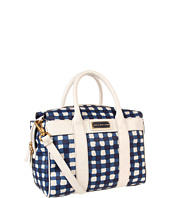 Marc by Marc Jacobs - Marc'D and Check'd PVC Printed Small Satchel