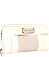 Marc by Marc Jacobs - Marc'd and Check'd Colorblocked Slim Zippy