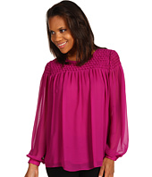 Calvin Klein - Smocked Yoke Blouse