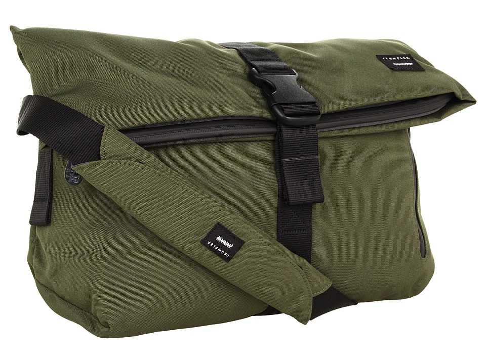Crumpler - The Pinnacle of Horror Commuter Laptop Shoulder Bag (Rifle Green) Computer Bags