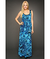 Calvin Klein - S/L Print Maxi Dress