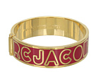 Marc by Marc Jacobs - Classic Marc Hinge Bangle (Fuchsia (Oro)) - Jewelry