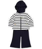 Juicy Couture Kids - Striped Hoodie and Pant Set (Infant)