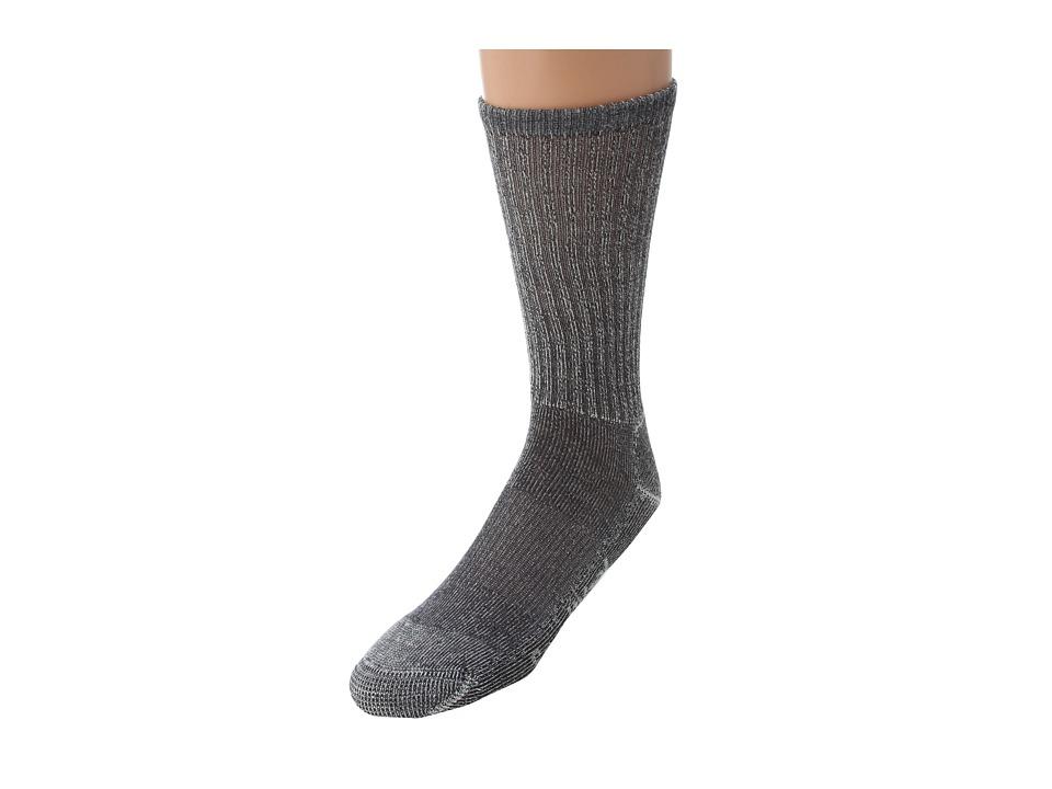 Smartwool - Hiking Light Crew (Gray) Quarter Length Socks Shoes