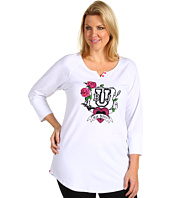 Betsey Johnson - Plus Size Stretch Cotton Sleepshirt