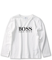 Hugo Boss Kids - Boys Logo Tee J25461 (Big Kids)