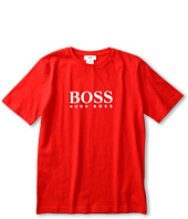 Hugo Boss Kids - Boys Logo Tee J25459 (Little Kids / Big Kids)