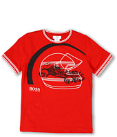 Hugo Boss Kids - Boys Racing Logo Tee (Big Kids)