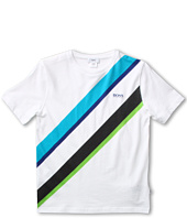 Hugo Boss Kids - Boys Sailing Logo Tee (Big Kids)