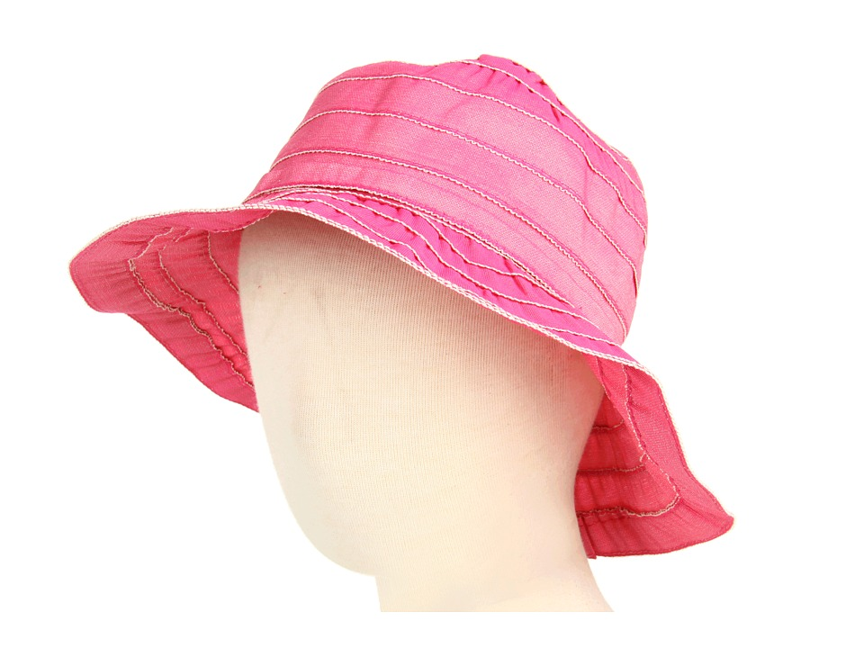 San Diego Hat Company Kids - 4-Inch Brim Sun Hat (Toddler/Little Kids) (Hot Pink) Traditional Hats