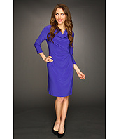 Calvin Klein - Three Quarter Sleeve Dress w/ Hardware