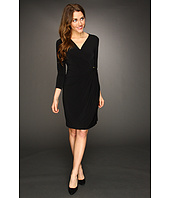 Calvin Klein - Drape Front Dress w/Hardware