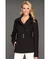 DKNY - Short Belted Soft Shell Jacket