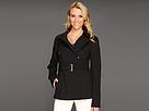 Short Belted Soft Shell Jacket