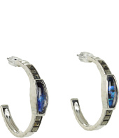 Judith Jack - Pearl Moon Hoop Earrings
