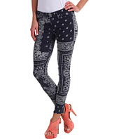 AG Adriano Goldschmied - The Legging Ankle Twill in Bandana Navy