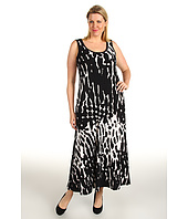 Calvin Klein - Plus Size Printed Maxi Dress