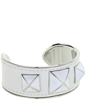 Rebecca Minkoff - Small Enamel Stud Leather Cuff
