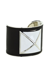 Rebecca Minkoff - Large Enamel Stud Leather Cuff