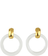 Kenneth Jay Lane - Lucite Hoops