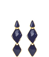 Kenneth Jay Lane - Triangle Rock Earrings