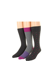 Cole Haan - Dots/Two Tone/Dress Rib Knit - 3 Pack