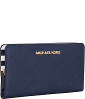 MICHAEL Michael Kors - Saffiano Interior Large Snap Wallet