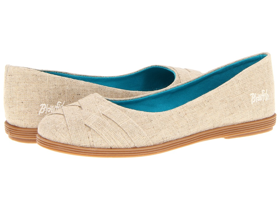 Blowfish - Glo (Natural Cozumel Linen) Womens Flat Shoes
