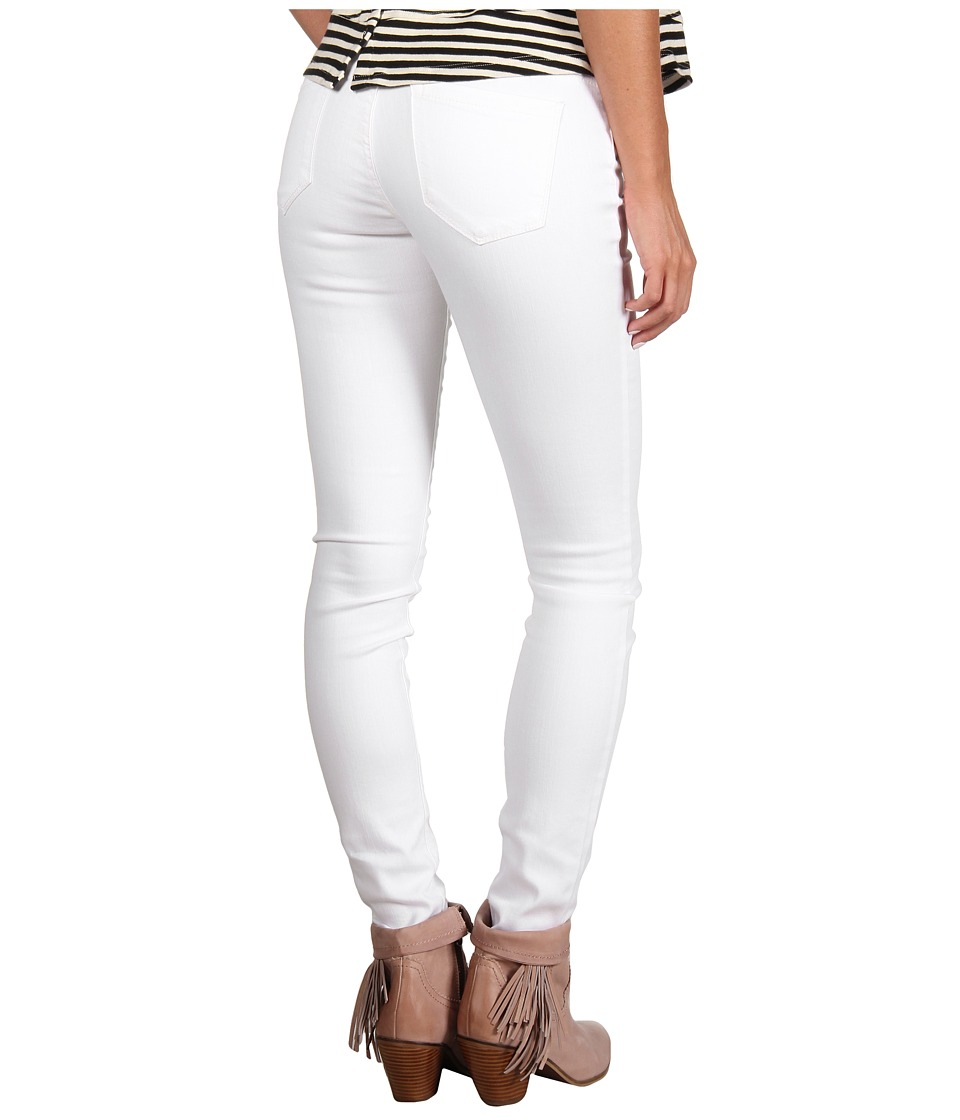 Blank NYC The Spray-On Super Skinny Jean in White Lines (White Lines) Women