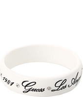 GUESS - Wide Plastic Bangle With Logo