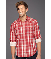 Lucky Brand - Sonoma Plaid Double Weave Western Shirt
