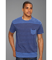 Lucky Brand - Striped Pocket Tee
