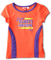 Puma Kids - Racer Back Awesome Tee (Little Kids)