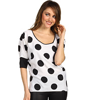Kenneth Cole New York - Sierra Polka-Dotted Top
