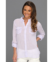 C&C California - Gingham 2-Pocket Roll Sleeve Shirt