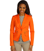 MICHAEL Michael Kors - Stretch Twill One-Button Blazer