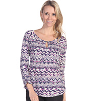 Lucky Brand - Chevron Ezra Top