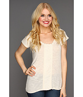 Lucky Brand - Nania Lace Inset Top