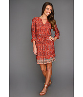 Lucky Brand - Mitchell Border Print Dress