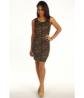 MICHAEL Michael Kors - Savannah Leopard Sleeveless Buckle Strap Dress