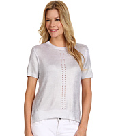Kenneth Cole New York - Mandy Short Sleeve Metallic Sweater