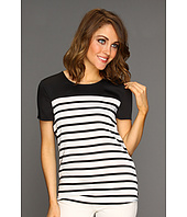 MICHAEL Michael Kors - Bretton Stripe Scoopneck T-Shirt