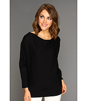 MICHAEL Michael Kors - Cowl Neck Zip Shoulder Sweater
