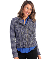 MICHAEL Michael Kors - Tweed Moto Chain Trim Jacket