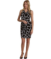 MICHAEL Michael Kors - Mod Giraffe Sleeveless Side Zip Dress