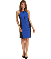MICHAEL Michael Kors - Ponte Colorblocked Zip Dress