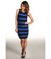 MICHAEL Michael Kors - Stripe Bandage Sleeveless Sweater Dress