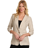 MICHAEL Michael Kors - Linen Shirred Boyfriend Jacket