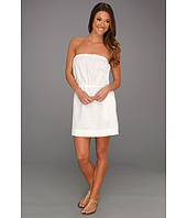 C&C California - GD Linen Woven Bandeau Tie Dress