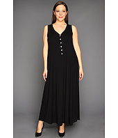 Karen Kane Plus - Plus Size Button Up Maxi Dress